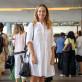 Look periodista de revista de papel couché: Vanina Rosenthal.