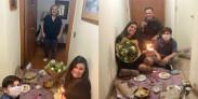 Amaro Gómez-Pablos celebra el cumpleaños de su mamá coronavirus