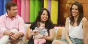 Chiqui Aguayo presenta a su hija en Buenos Días a Todos vale