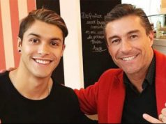 Fernando Solabarrieta y su hijo Nicolás