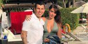 Gary Medel y Cristina Morales 11