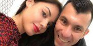 Gary Medel y Cristina Morales Vale