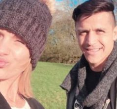 Mayte y Alexis en invierno Vale Vale