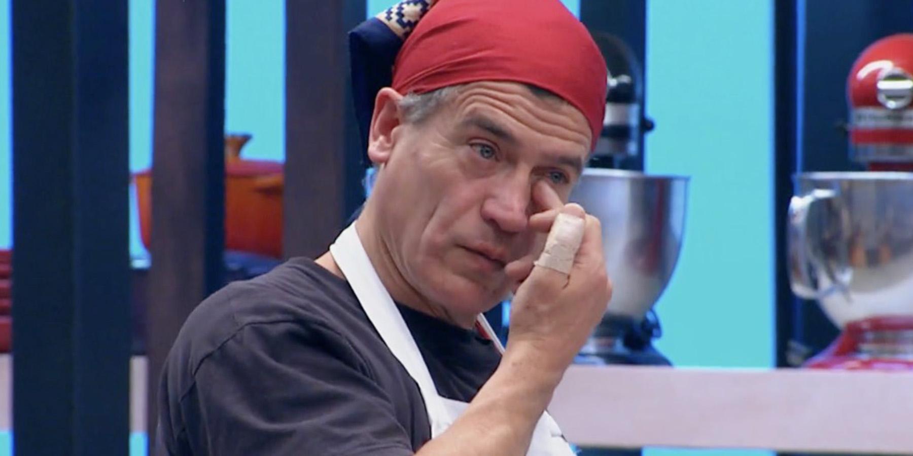 Julio Milostich llora en MasterChef