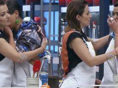 Yamila Reyna y Camila Recabarren pena en MasterChef 1