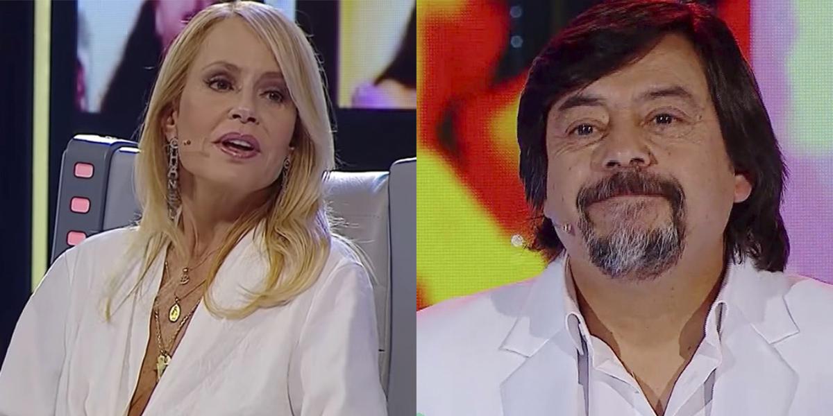 Cecilia Bolocco y Bombo Fica en Pecados digitales