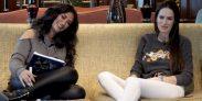 Pamela Díaz y Adriana Barrientos en Sin Editar en YouTube