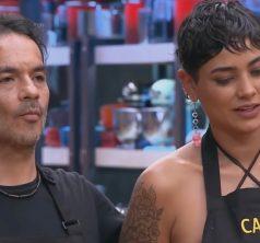 Camila Recabarren y Alvaro López en MasterChef