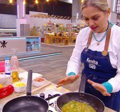Kenita Larraín en El Discípulo Chef Vale