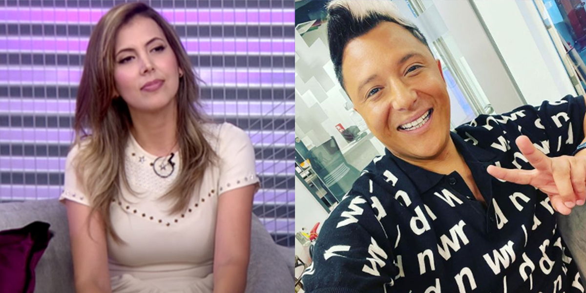 «Lo va a convertir en sapo Iván Núñez… Porque es mentiroso», dice Nataly Chilet sobre Sergio Rojas, refiriéndose a querella contra el periodista de farándula